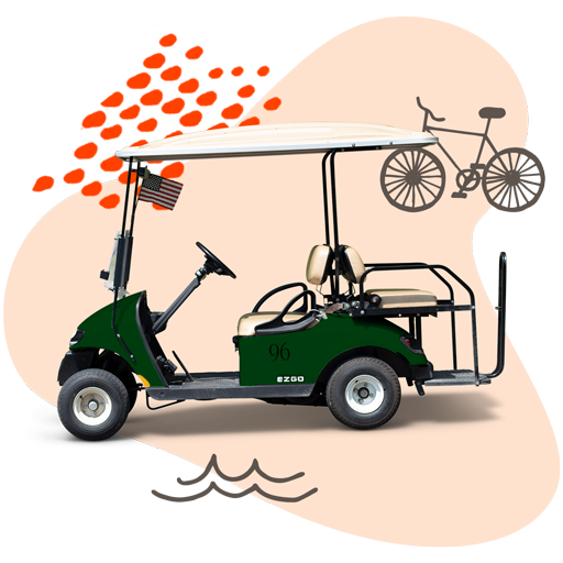 Put-in-Bay Bike and golf cart rentals