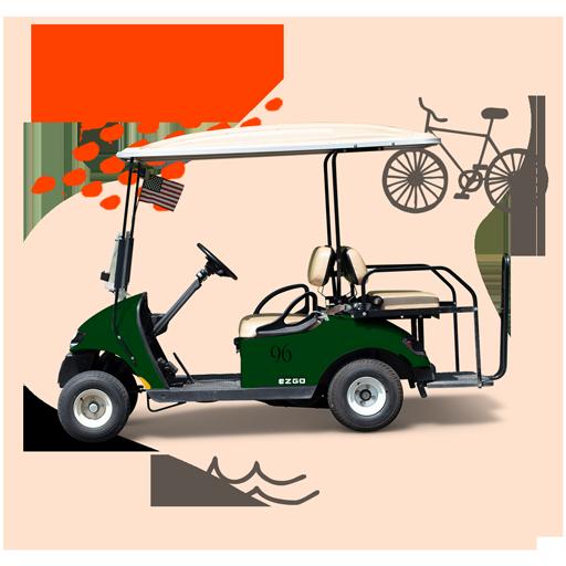Put-in-Bay Bike and golf cart rentals