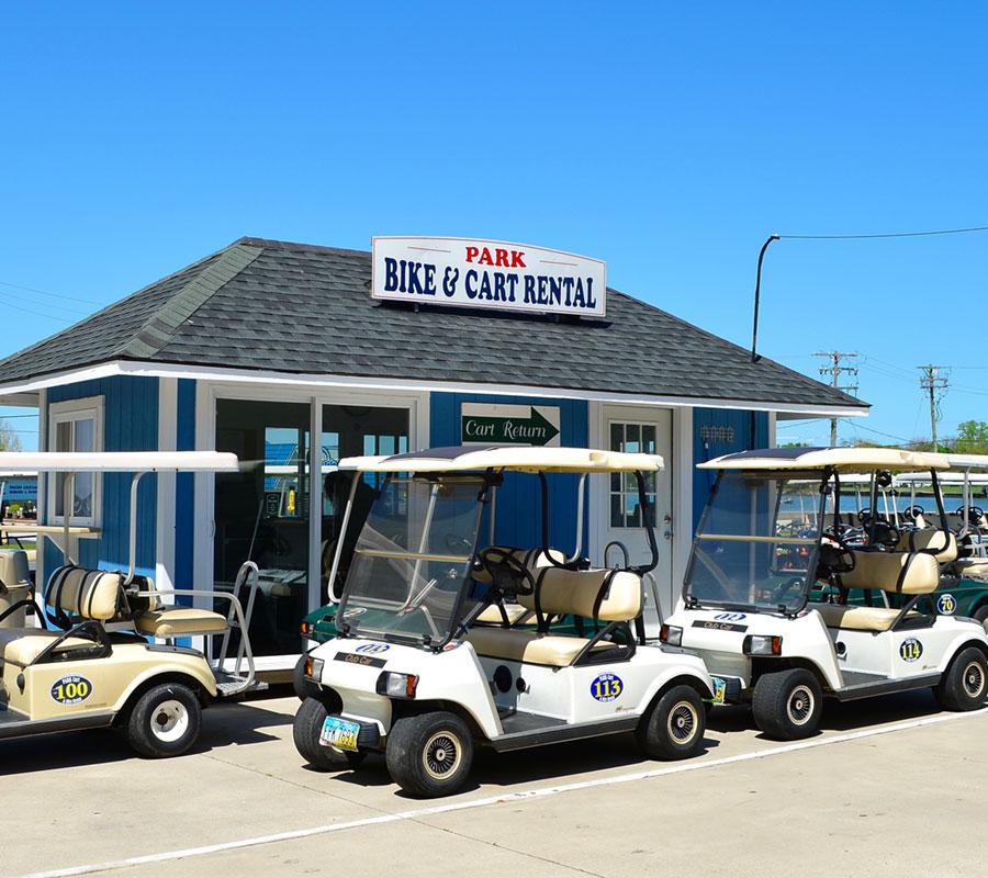 Put-in-Bay Boathouse Cart and Bike Rental 2
