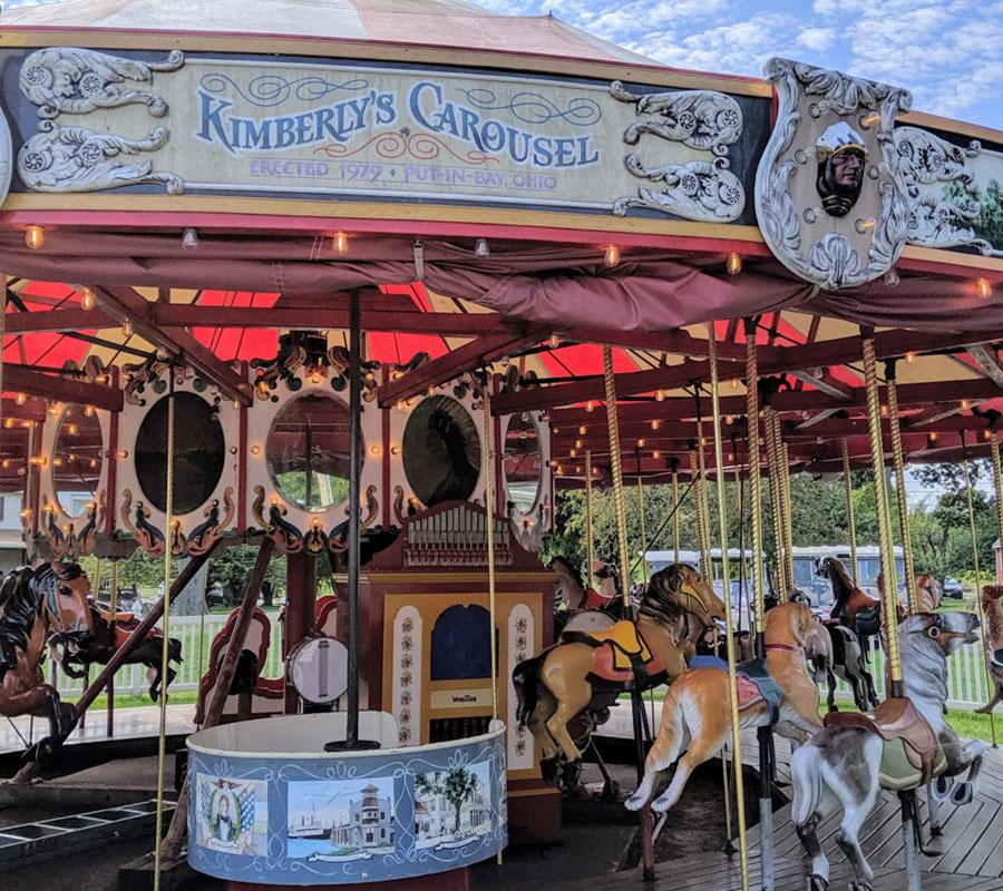 Put-in-Bay carousel
