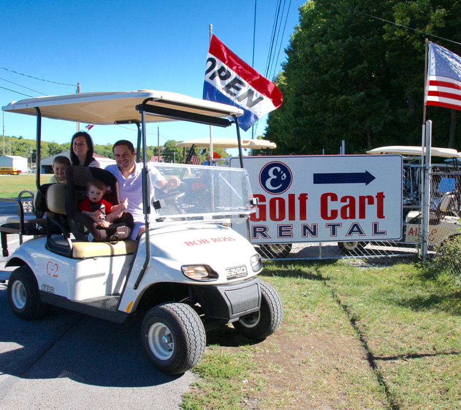 Put-in-Bay e s golfcarts 2020