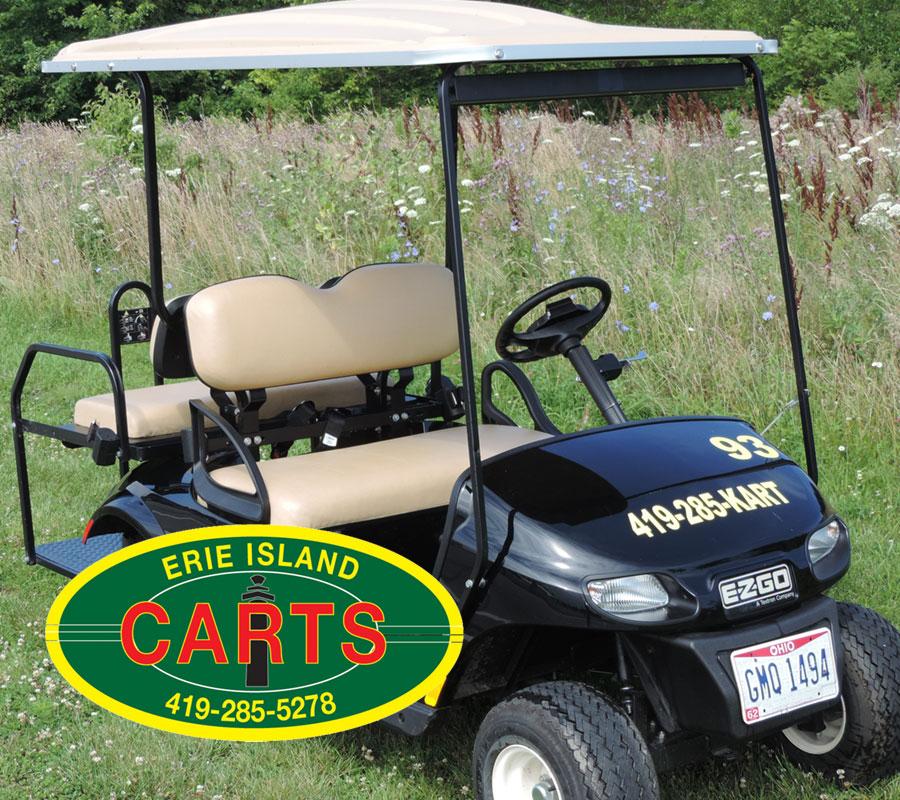 Put-in-Bay erie island carts