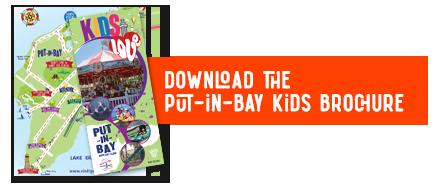 Put-in-Bay kids brochure button