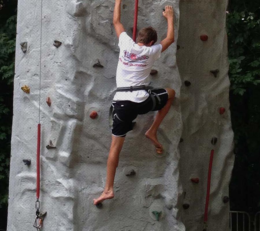 Put-in-Bay put in bay rock climbing wall