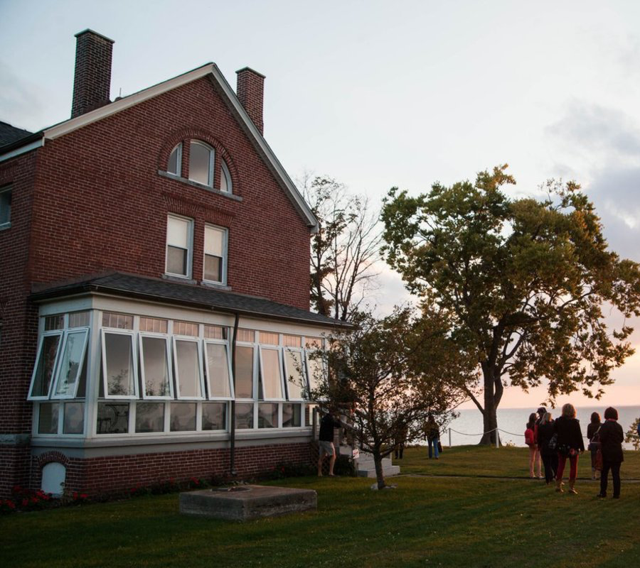 Put-in-Bay south bass island lighthouse wedding