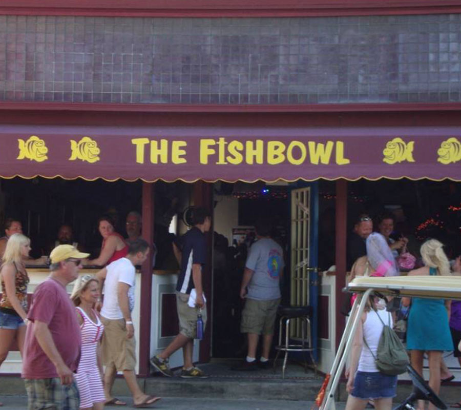 Put-in-Bay the fish bowl
