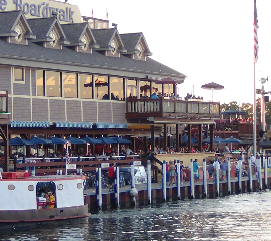 Put-in-Bay boardwalk dock put in bay