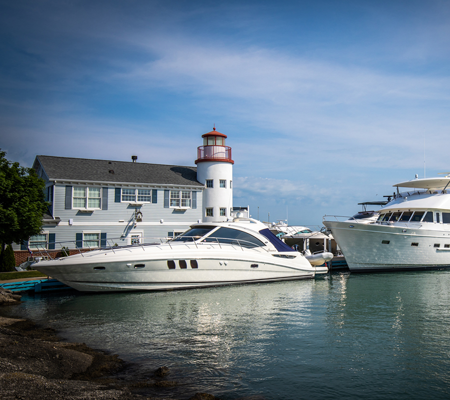 Put-in-Bay crews nest docks put in bay