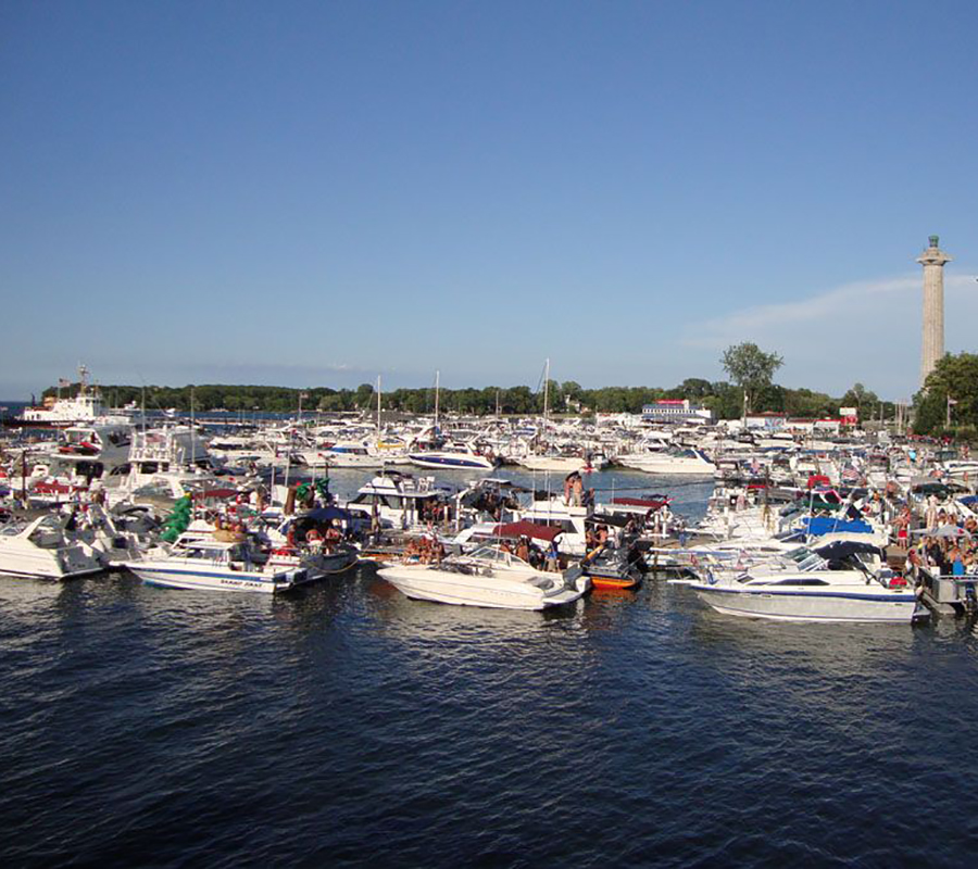 Put-in-Bay municipal docks put in bay
