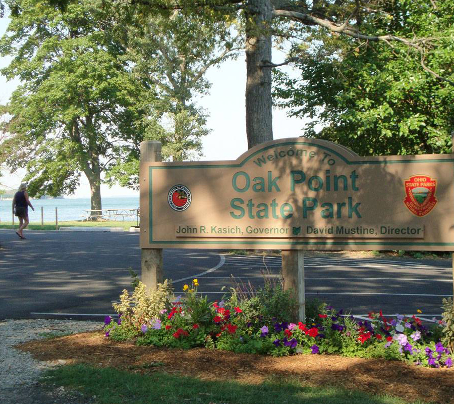 Put-in-Bay oak point state park put in bay