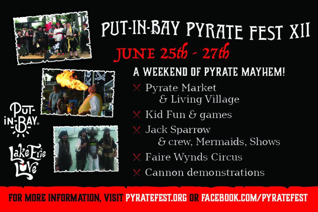 Put-in-Bay put in bay pyrate fest 2021